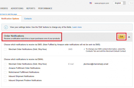 How to Forward Amazon Notifications to Your Helpdesk