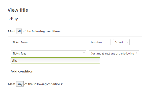 How to Create Zendesk Views for eBay and Amazon