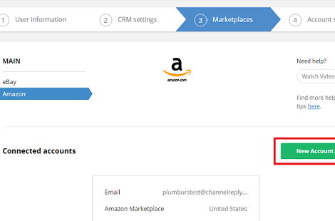 Amazon Integration Instructions