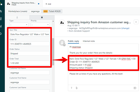 How to Use Custom Fields from ChannelReply in Zendesk Macros