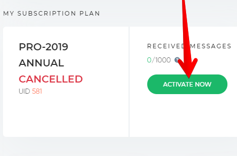 How to Reactivate ChannelReply