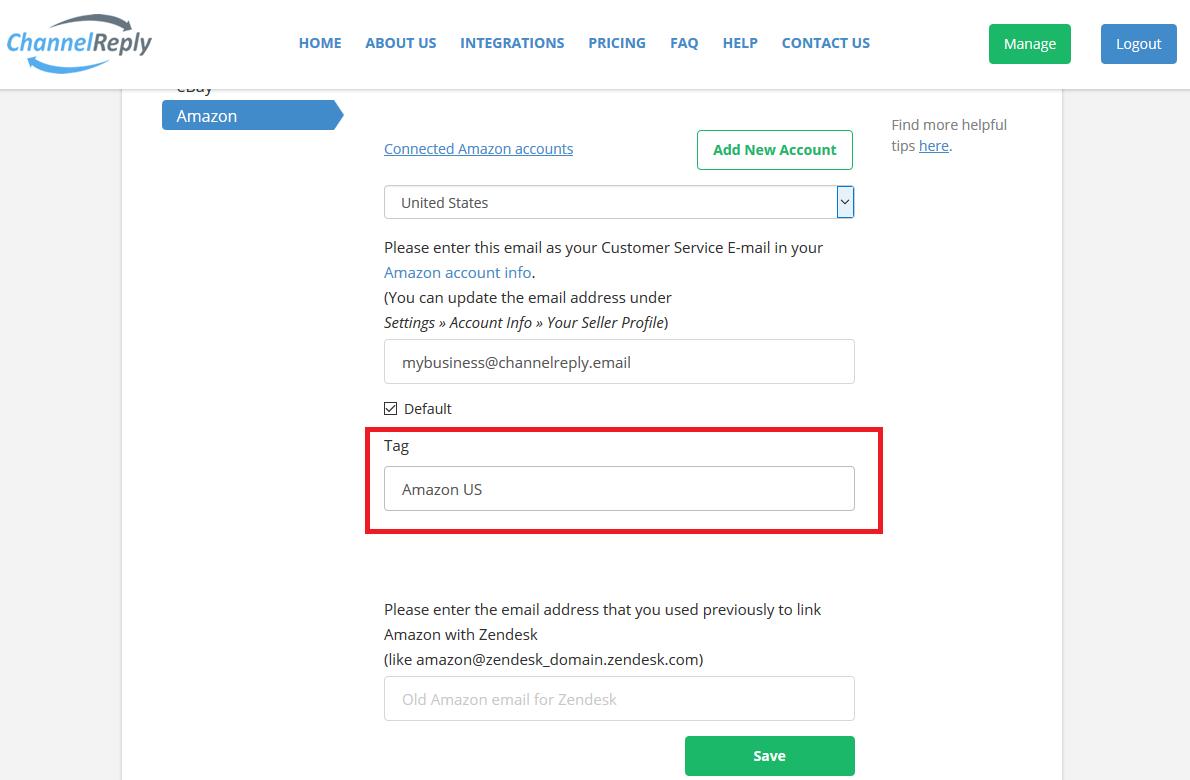 Create Account Tag