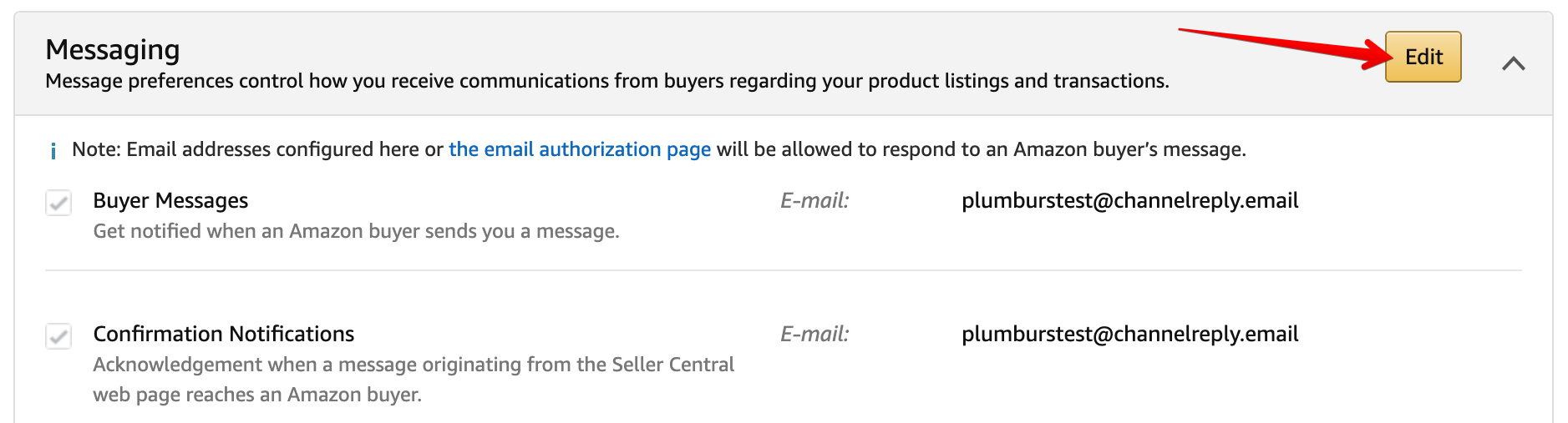 Sending Amazon Buyer Messages through ChannelReply