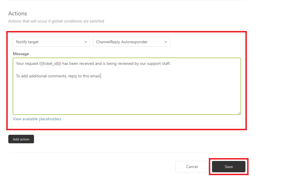 Creating an eBay and Amazon Autoresponder in Zendesk with ChannelReply