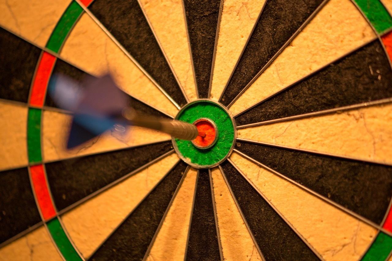 Dart in a Bullseye