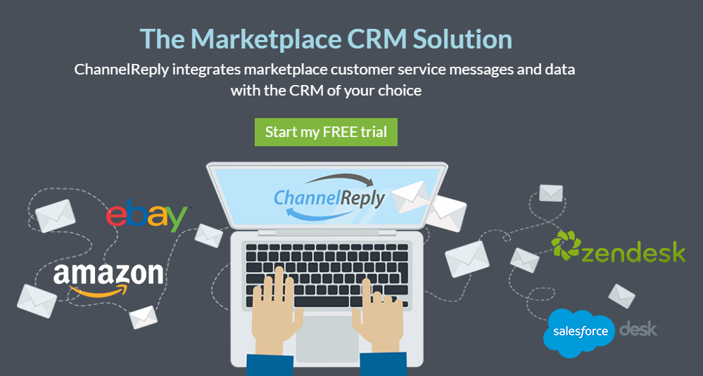 ChannelReply: eBay and Amazon CRM Solution