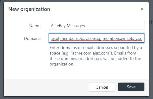 Creating an eBay Messaging Organization in Zendesk