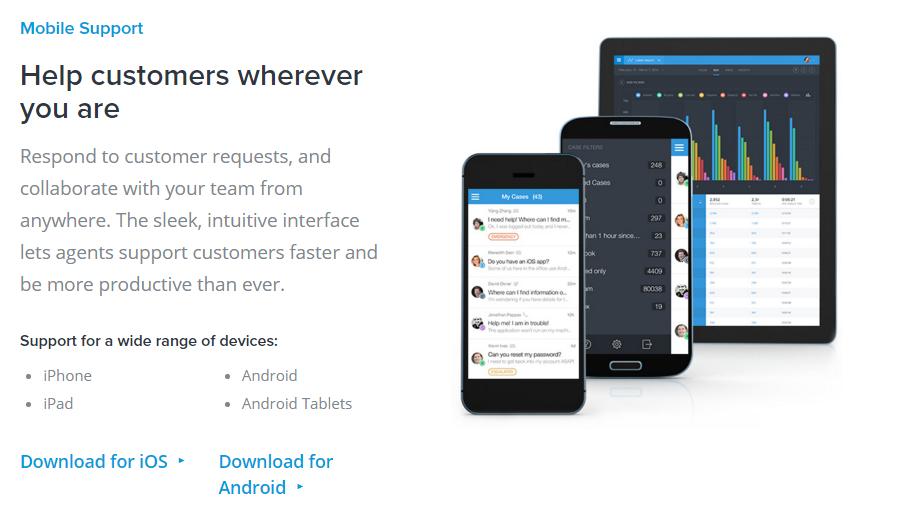 Desk.com Mobile