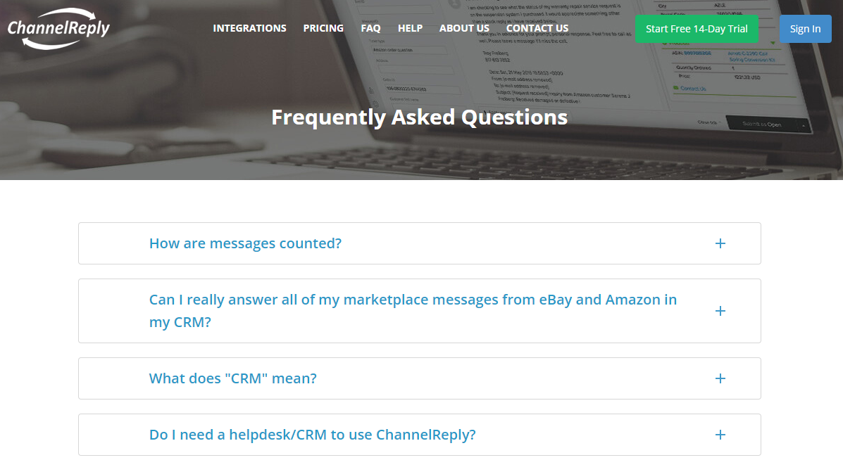 ChannelReply FAQ
