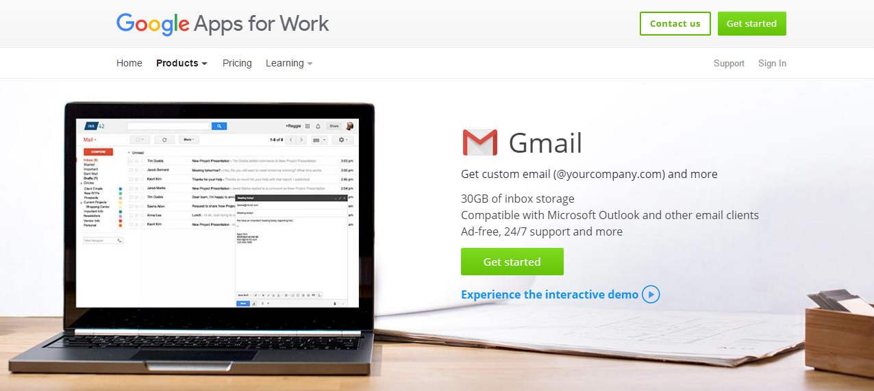 Create a Business Email Address with Gmail