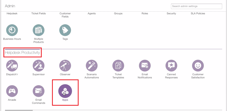 Manage Apps in Freshdesk
