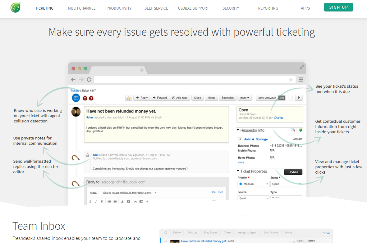 Freshdesk Ticket