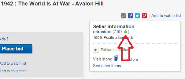 How eBay Stars Work