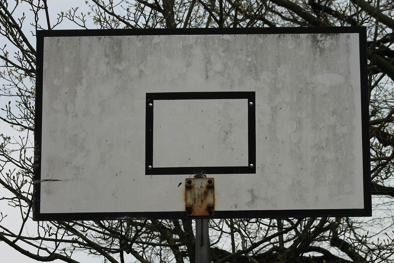 Absent Basketball Hoop