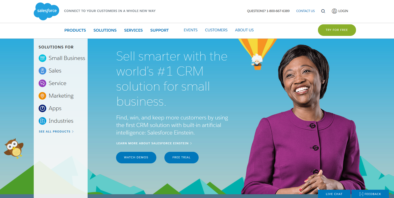 Salesforce: CRM Software