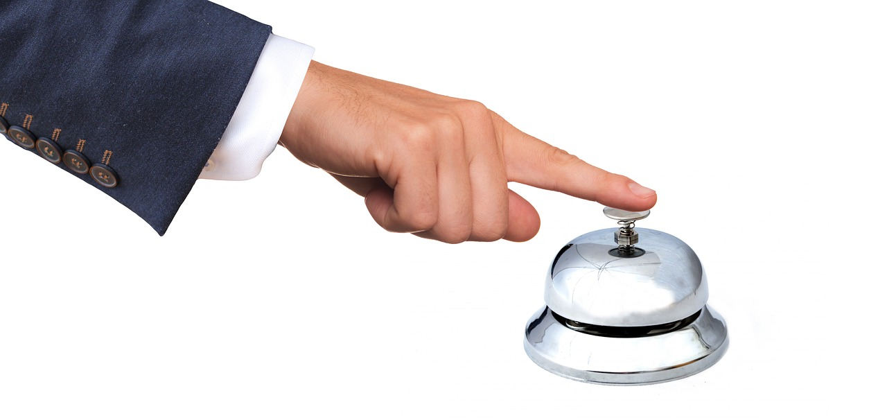 Hand Ringing Service Bell
