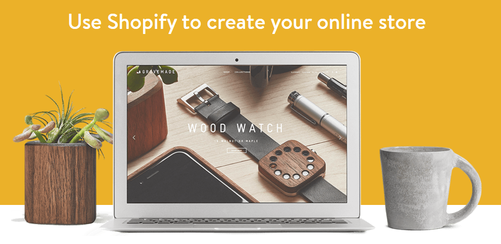 how to create an online store using shopify