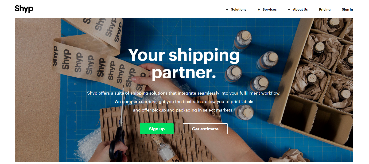 Shyp: eBay Shipping Services
