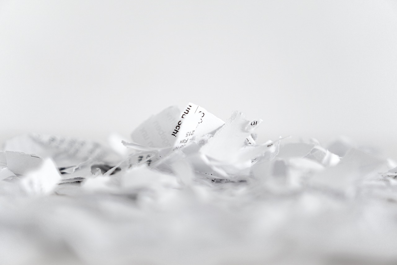 Torn-Up Paper