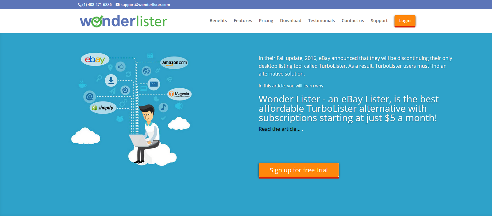 Wonder Lister: eBay Seller Tools for Listing
