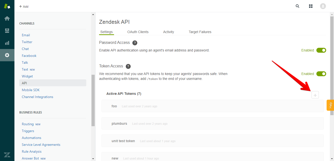 How to Create a Zendesk API Token