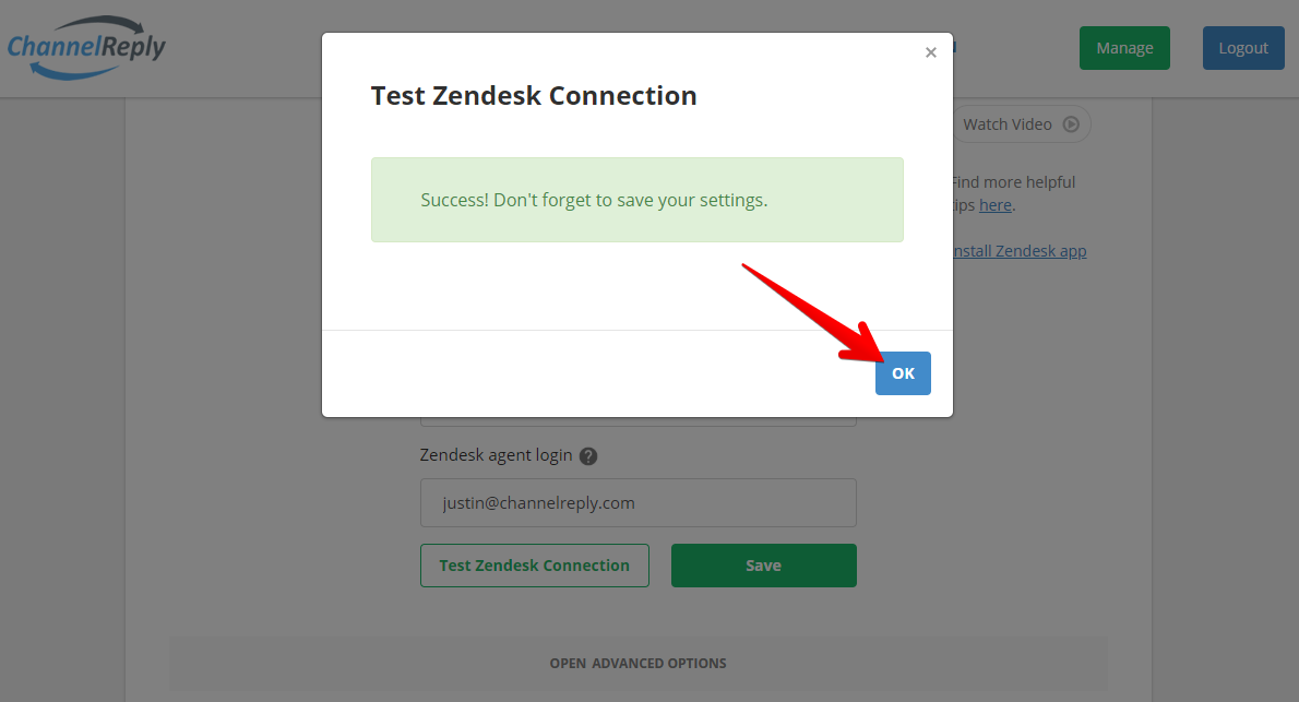Zendesk Integration Success