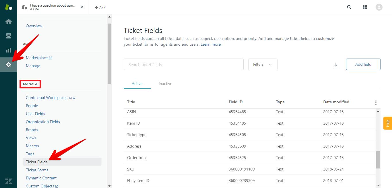 Where to Edit Ticket Fields in Zendesk