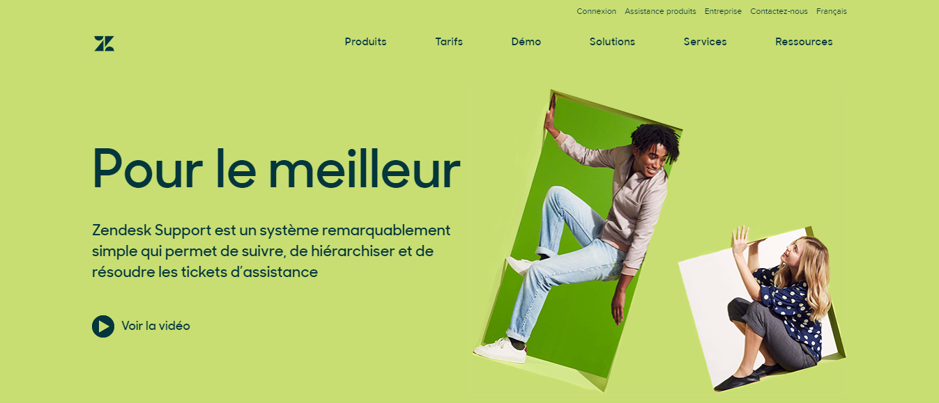 Zendesk Support in French