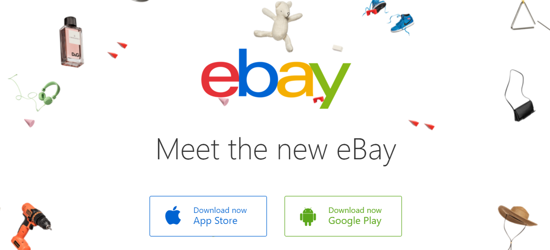eBay and Amazon Mobile Apps for Customer Service